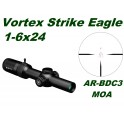 VORTEX STRIKE EAGLE 1-6x24 AR BDC3 MOA